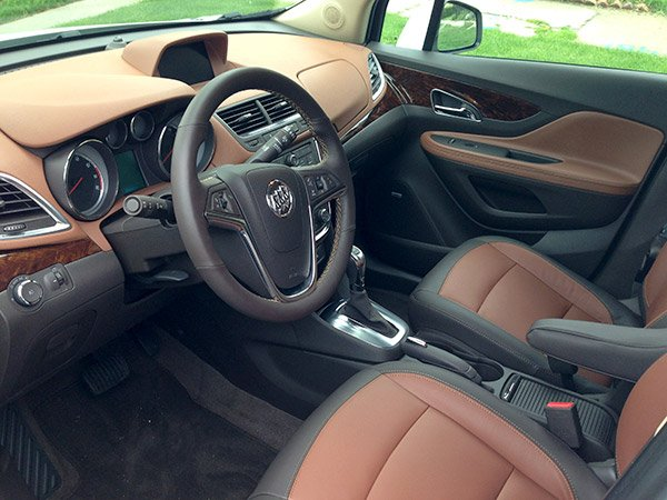 buick encore interior leather