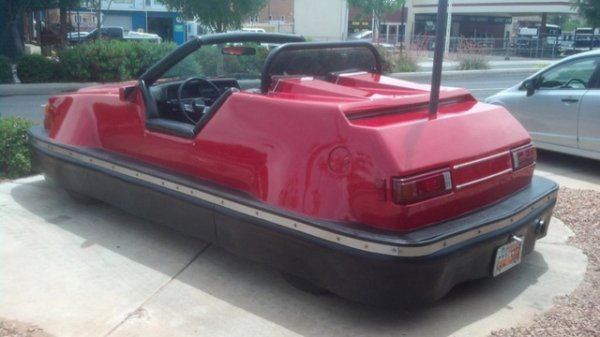 Street Legal Bumper Car for Sale: Bumping Not Permitted