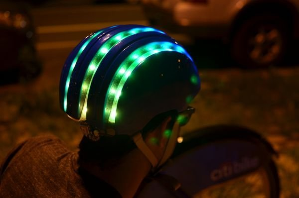 CitiBike Smart Helmet Leads You to the Nearest Bike Docking Station