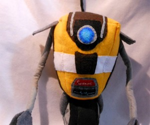 Claptrap Gets Plush