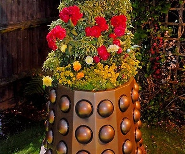 Dalek Planter: Germinate! Germinate!