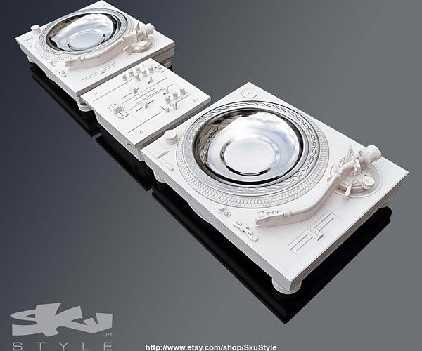 Turntable Ashtrays: Scratch n' Whiff