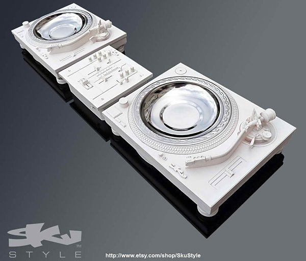 decktray turntable ashtray and mixer by sku style