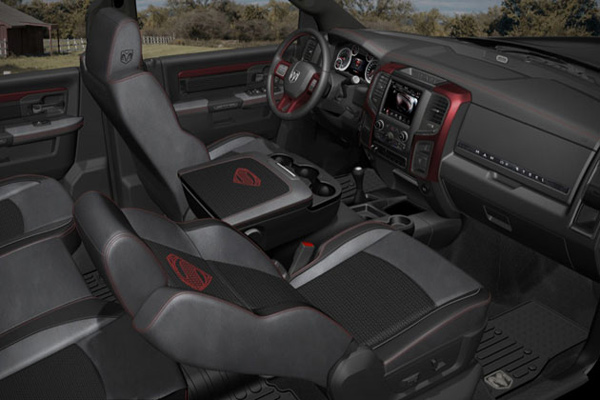 dodge ram superman man of steel inside photo