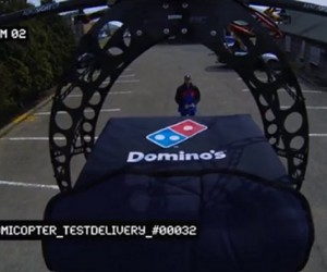 Domino's Drone Delivers Pizza: Is That Delivery or Di-dron-o?