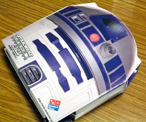 R2-D2 Pizza Box Surfaces in Japan: Droid Delivers!