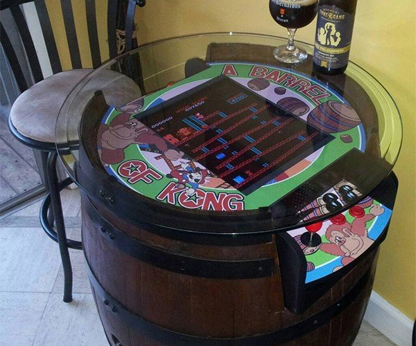 Guy Puts Donkey Kong in a Barrel: At Least It's Not on Fire