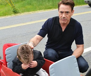 Kid Wants to Meet Iron Man, Meets Robert Downey Jr. Instead, Cries
