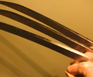 Electrified Wolverine Claws will Cut & Cook You