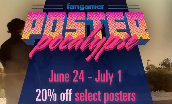 Fangamer 20% off Poster Sale: Posterpocalypse