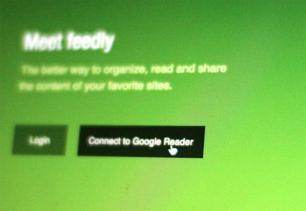 feedly google reader alternative blurry photo