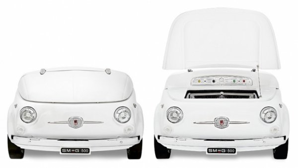 Fiat 500s Turned into Refrigerators: Cool Cars, Literally.