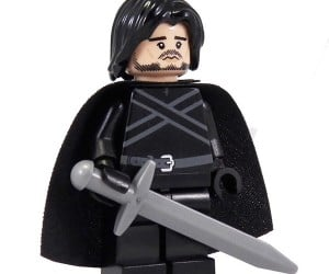 game of thrones jon snow lego minifig 300x250