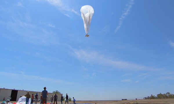 Google Project Loon Internet Balloons: SkyNet, Literally.