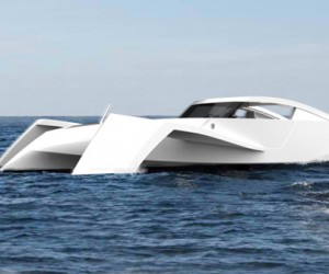 Gran Turismo Trimaran Takes to the Open Water, Not the Race Track