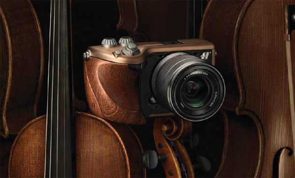 hasselblad lunar camera mahogany photo