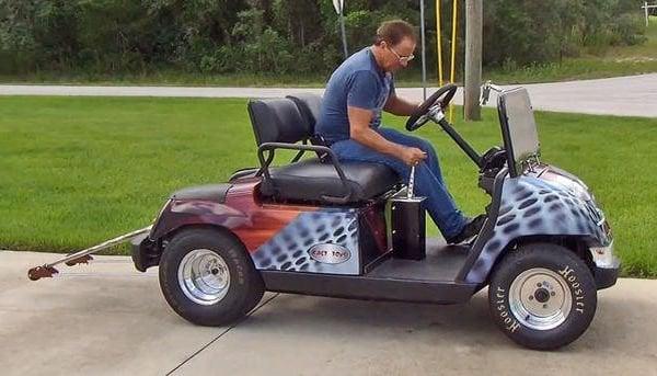 200hp Golf Cart Reaches 100mph