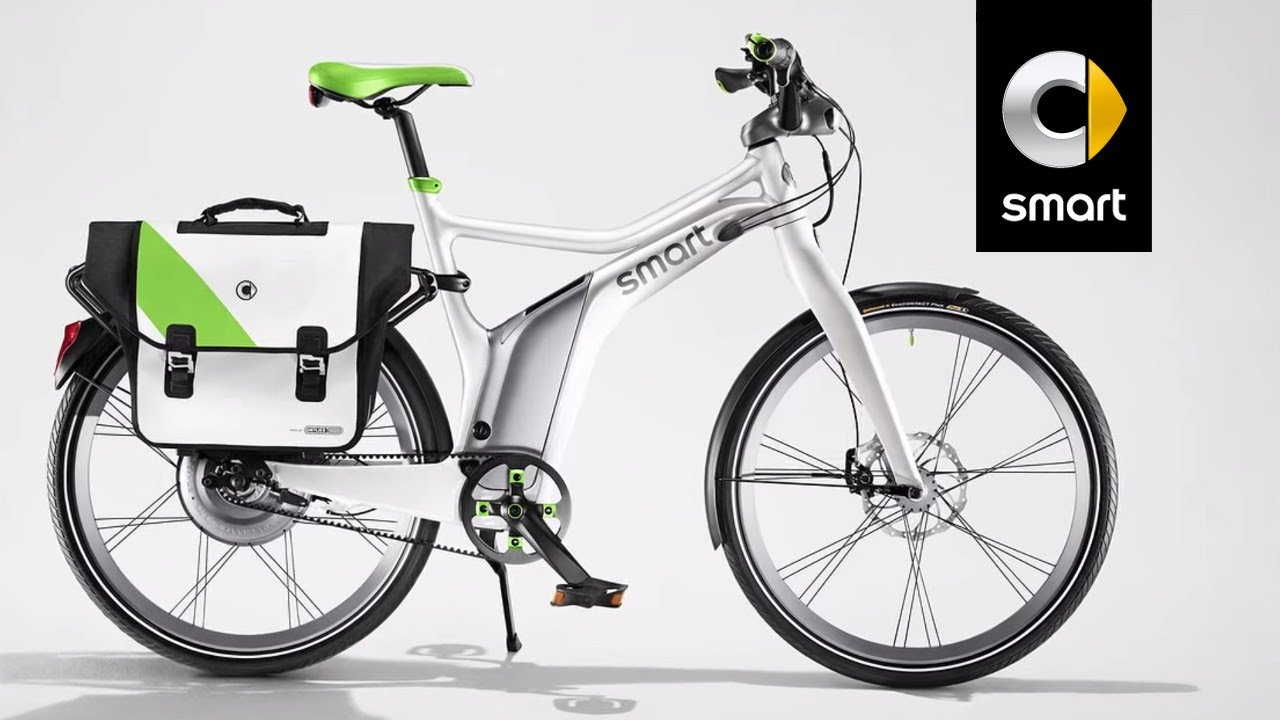 smart ebike german car company outs its first electric bike. Black Bedroom Furniture Sets. Home Design Ideas