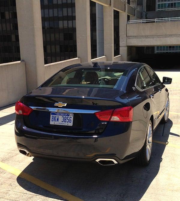 2015 Chevrolet Impala Transmission: 2014 Chevrolet Impala 2LTZ Review: Chevy Flirts With