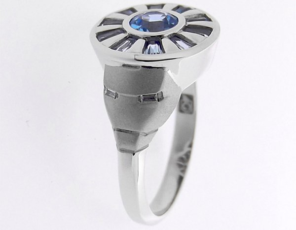 iron man arc reactor wedding ring by gino arizmendi