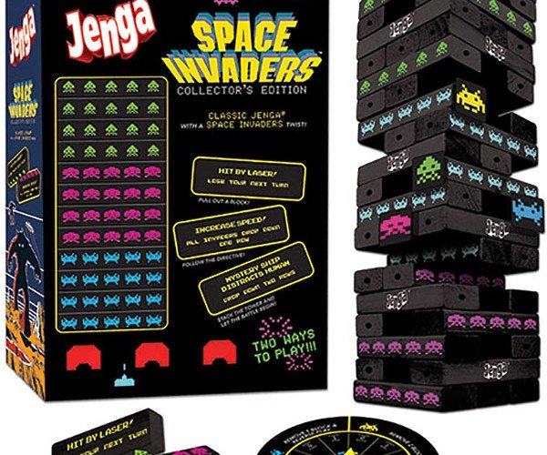Jenga Space Invaders Edition: Increase Speed and Fall Over