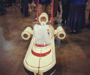 Landspeeder Push Cart Comes in Handy when Shopping in Mos Eisley