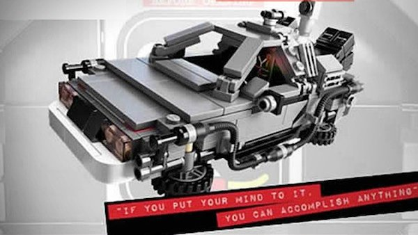 Official Back to the Future LEGO Set Surfaces