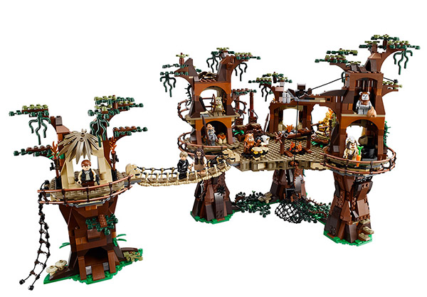 LEGO Releasing Ewok Village Set: LEG-ENDOR-Y