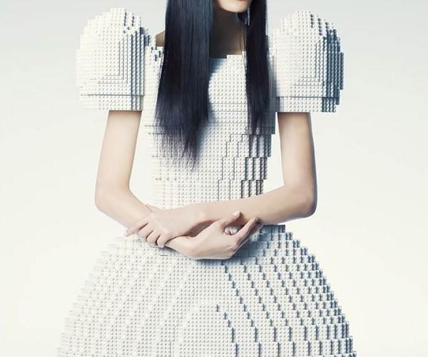 LEGO Wedding Dress: Do You Take This Brick?