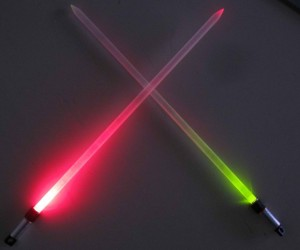 Lightsaber Knitting Needles: for Stitch Lords