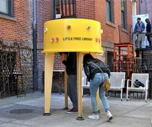 Little Free Libraries Hit the Streets of NYC