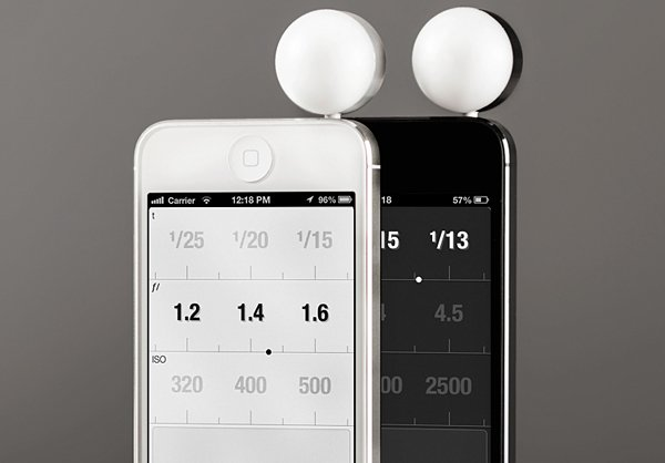 Lumu iPhone Light Meter: Because You Can't Trust Your Retina. Or Your Retina Display.