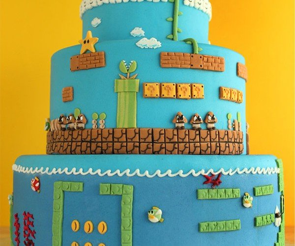 Super Mario Bros. Layer Cake, I Mean Level Cake