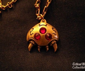 Super Metroid Parasite Necklace: Giver of Life or Sucker of Energy?