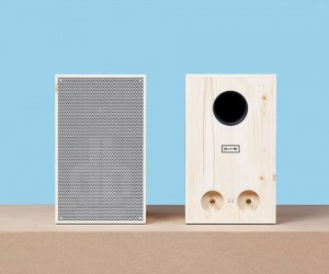 Neue Werkstatt NW3 Sustainable Speakers: Woody Goodness