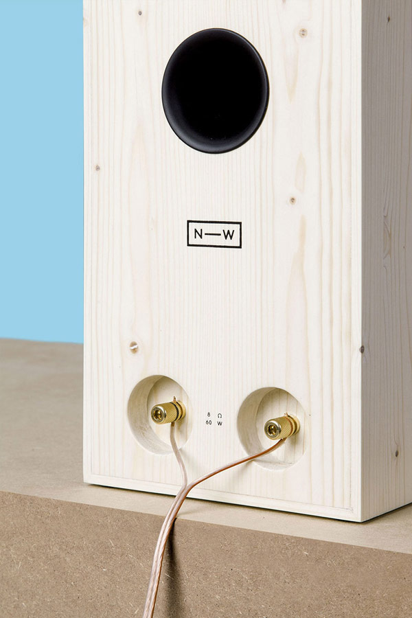 neue werkstatt nw3 wood speaker back photo