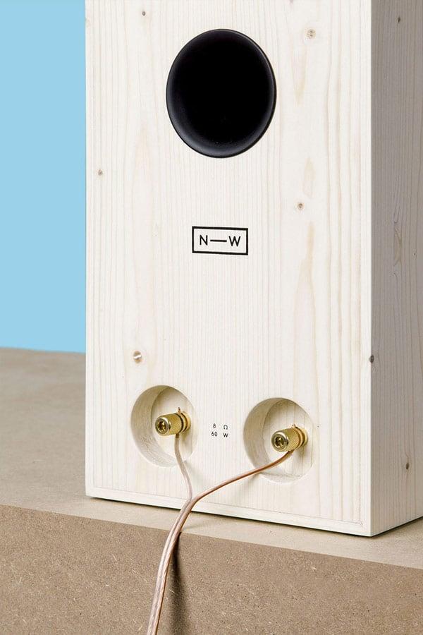 neue werkstatt nw3 wood speaker back photo