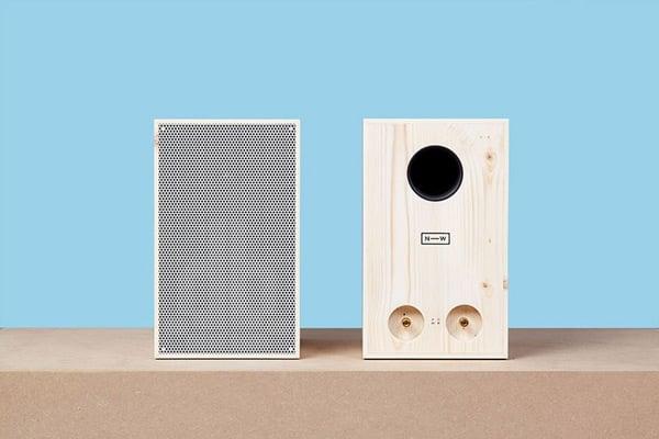 neue werkstatt nw3 wood speaker photo