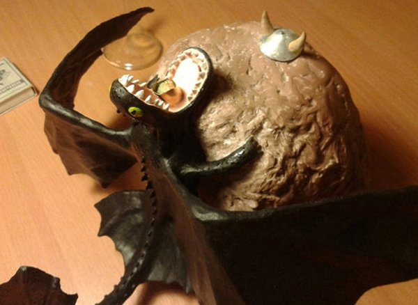 How to Train Your Dragon… To Be a Lamp That Breathes Fire
