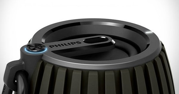 philips soundshooter bluetooth speaker top photo