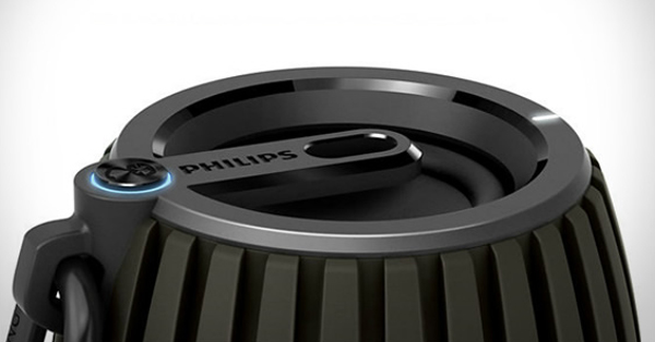 philips soundshooter bluetooth speaker top