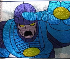 X-Men Sentinel Stained Glass Window is Mag-Neato!