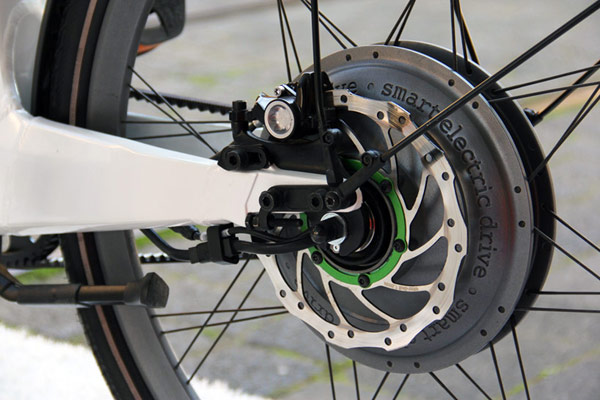 smart-electric ebike bike hydraulic brake photo