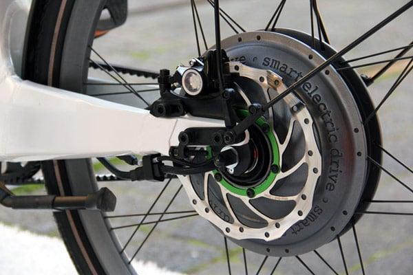smart-electric ebike bike hydraulic brake photo