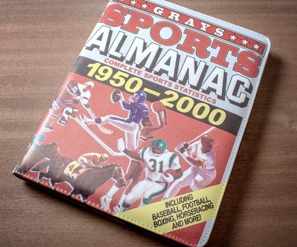Back to the Future Sports Almanac is Real, As an iPad Case