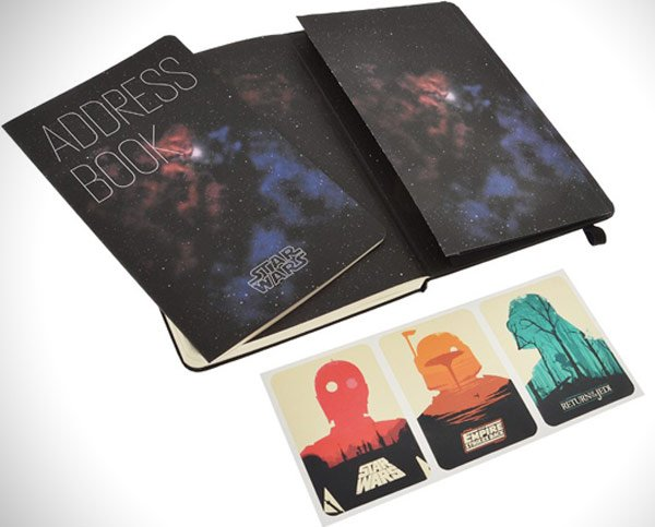 star wars moleskine planner custom