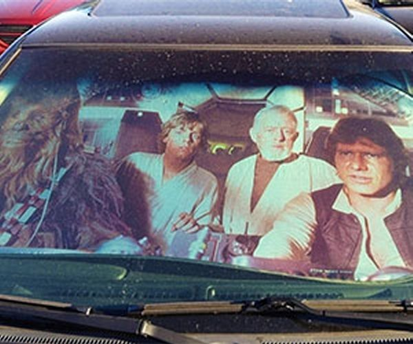 Star Wars Sun Reflector for Your Landspeeder