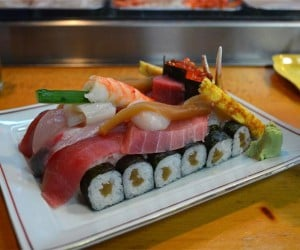 Sushi Tanks Ready to Wage War on Hunger