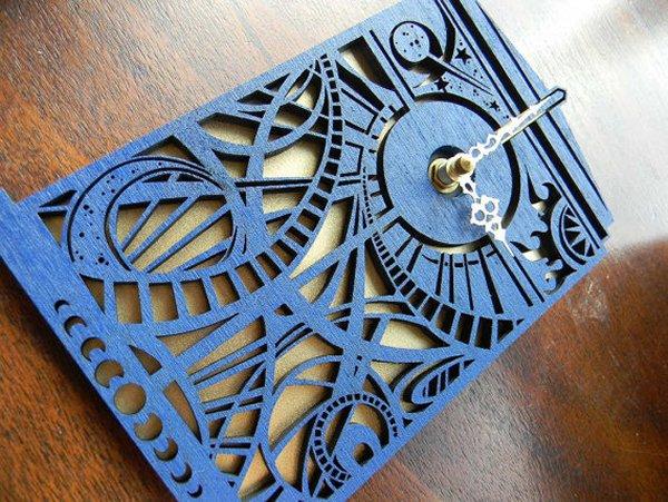 tardis clock