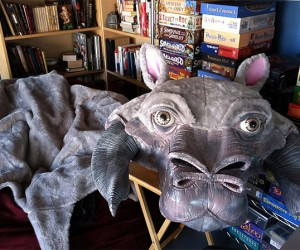 Tauntaun Skin Rug: They Don't Smell That Bad on the Outside
